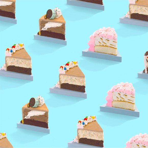 Baskin Robbins ice cream cake commercial