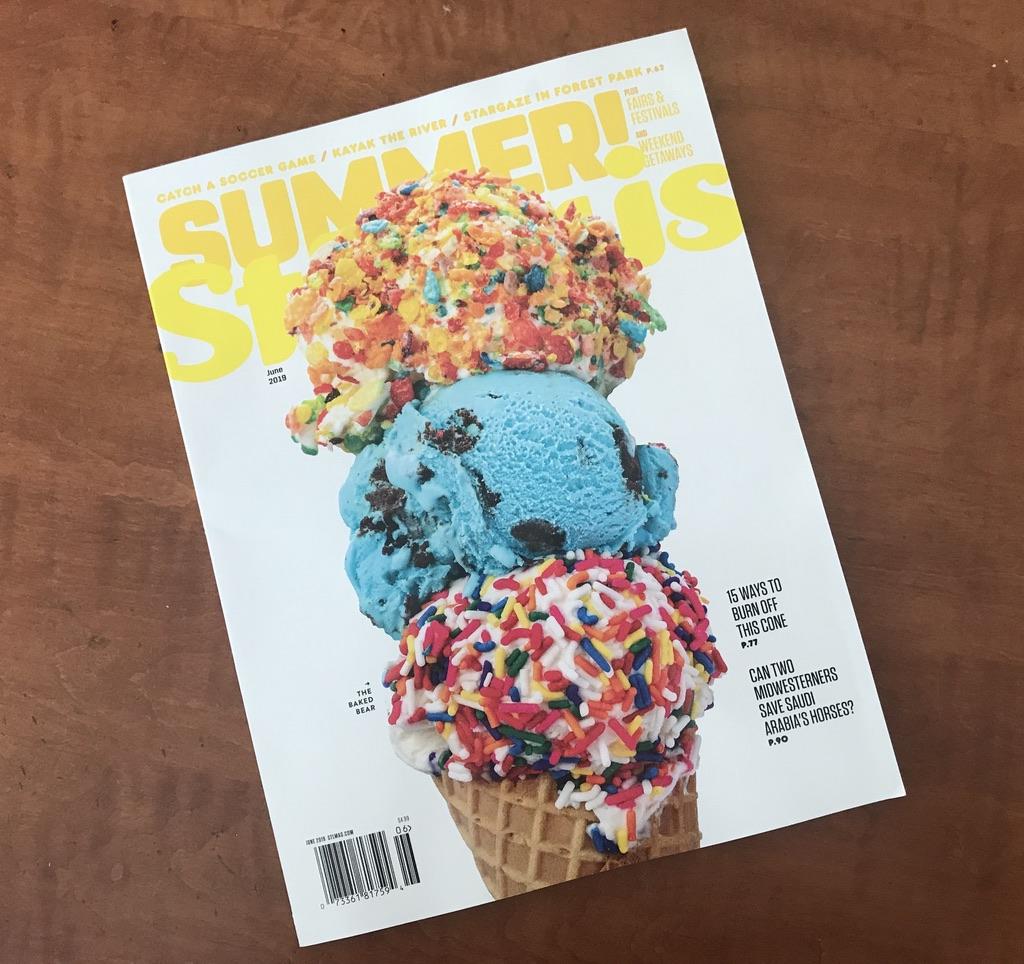 St Louis Magazine cover