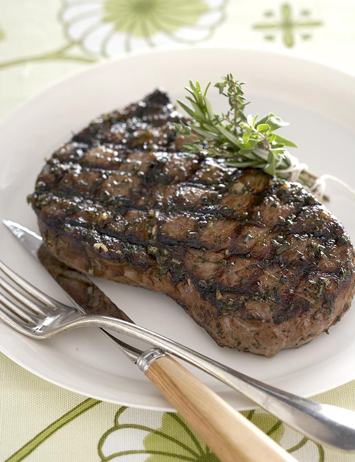 herb steak