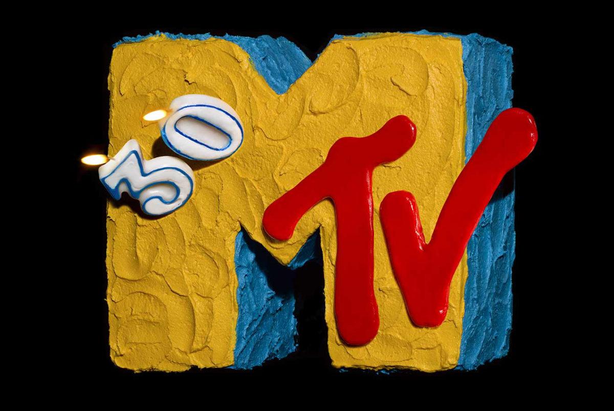MTV 30th anniversary cake