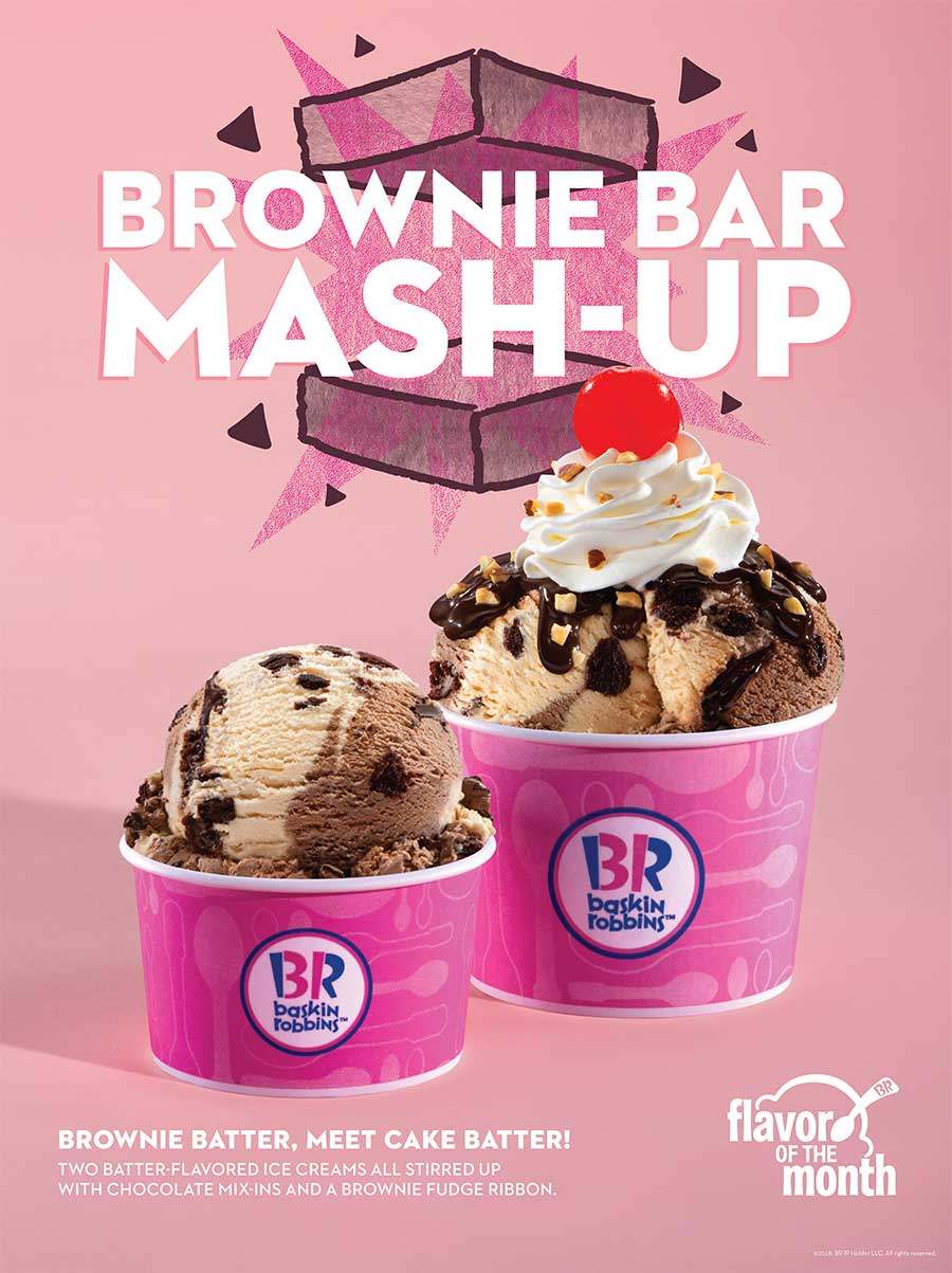 Baskin Robbins Brownie Bar
