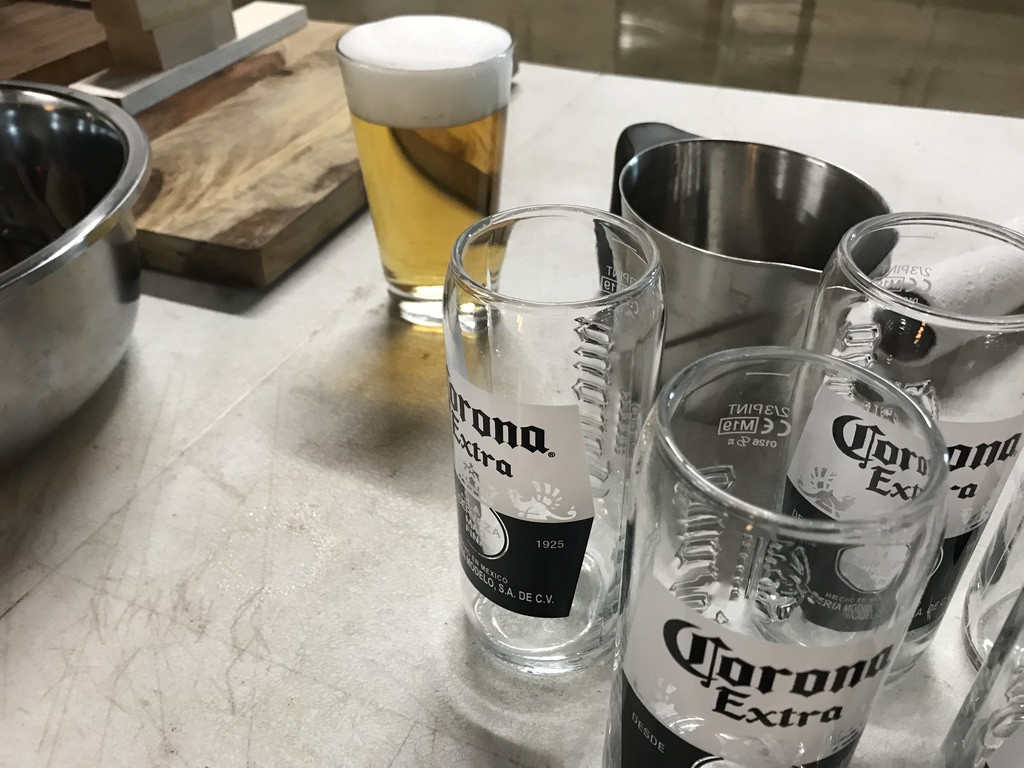 Beer Food Stylist BTS photo